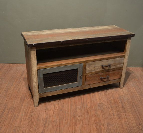 Best 10 reclaimed wood tv stand ideas on pinterest rustic wood tv stand rustic entertainment - Reclaimed wood tv stand ideas ...