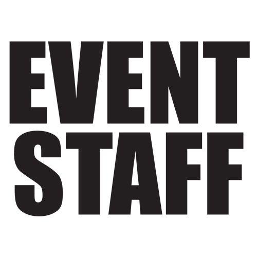 Event staff t shirt tshirts pinterest events for Event staff shirt ideas