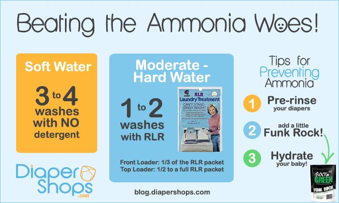 ammonia woes in cloth diapers
