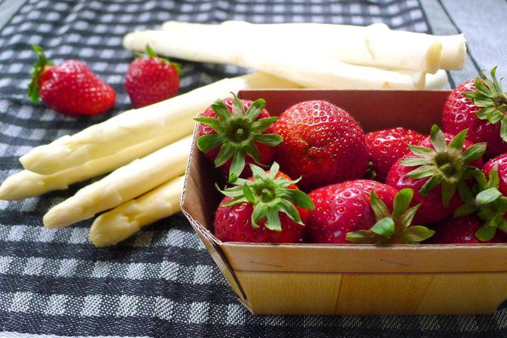 Asperges en aardbeien van Hof Kaemena, Bremen ~ Spargel und Erdbeeren von Hof Kaemena, Bremen #Bremermoment