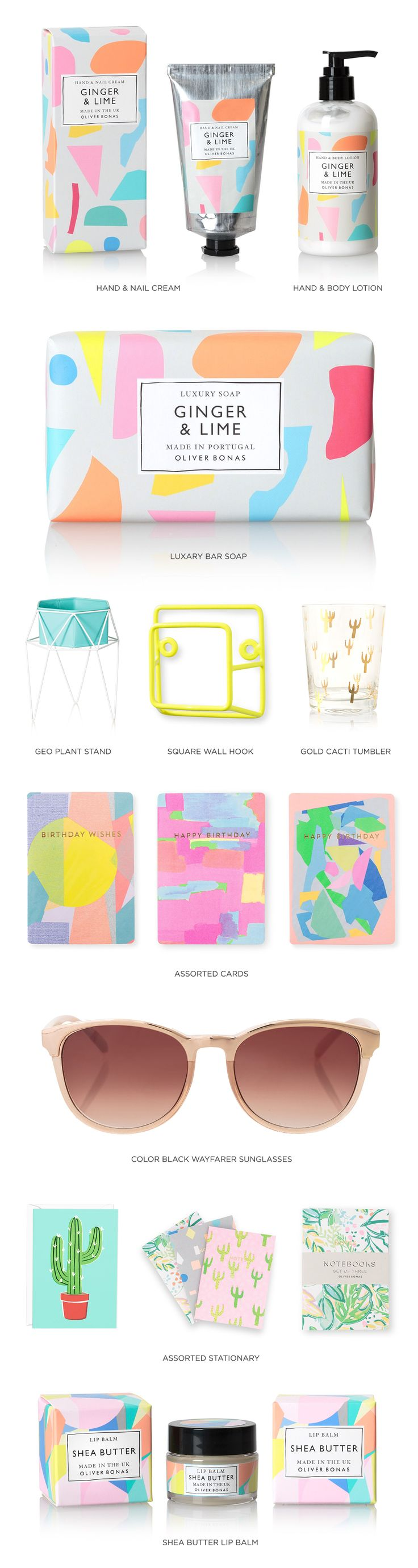PAPER & PATTERN | NEW FROM OLIVER BONAS