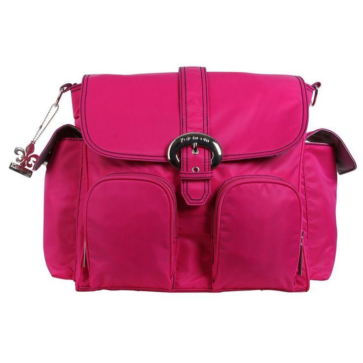 Kalencom Double Duty Diaper Bag, Pink