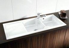 Idessa 8S Blanco zlewozmywak ceramiczny 500x1160 lewy - 516939  1899 zł