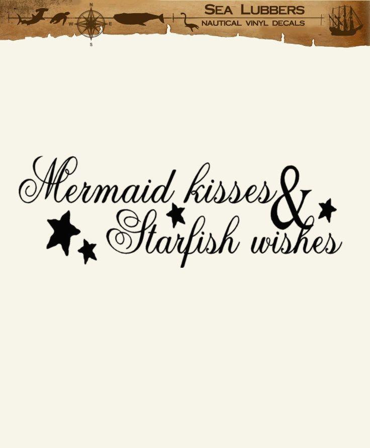 Mermaid Kisses and Starfish Wishes - SAPPY!