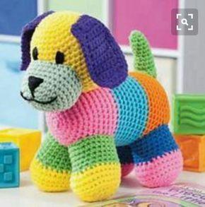 Amigurumi Örgü Rengarenk Oyuncak Köpek Modeli Yapılışı ( Anlatımlı ) – Örgü, Örgü Modelleri, Örgü Örnekleri, Derya Baykal Örgüleri