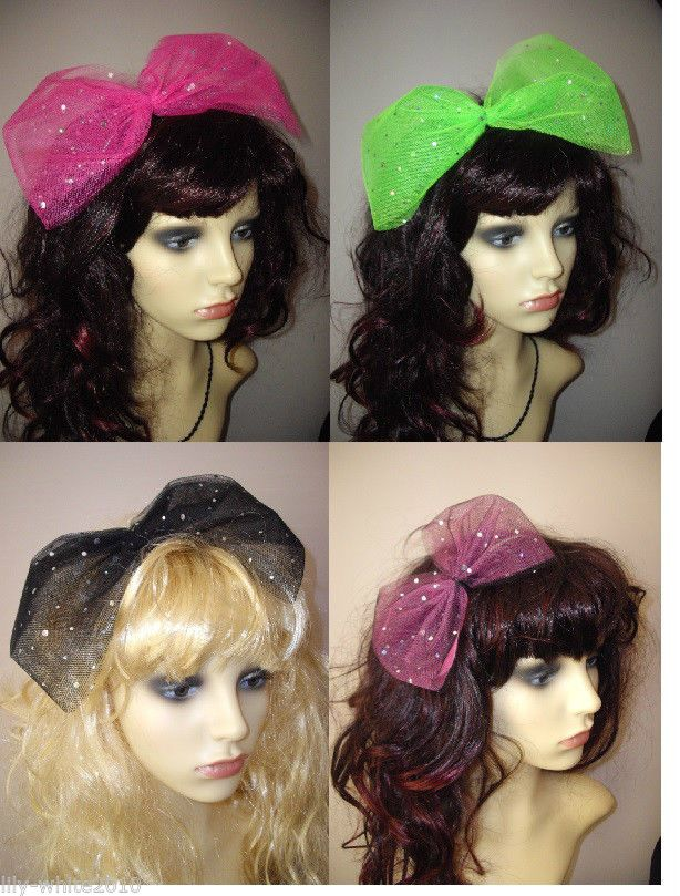 80s style hair bows 26 best images about hen fancy dress wear on 2982