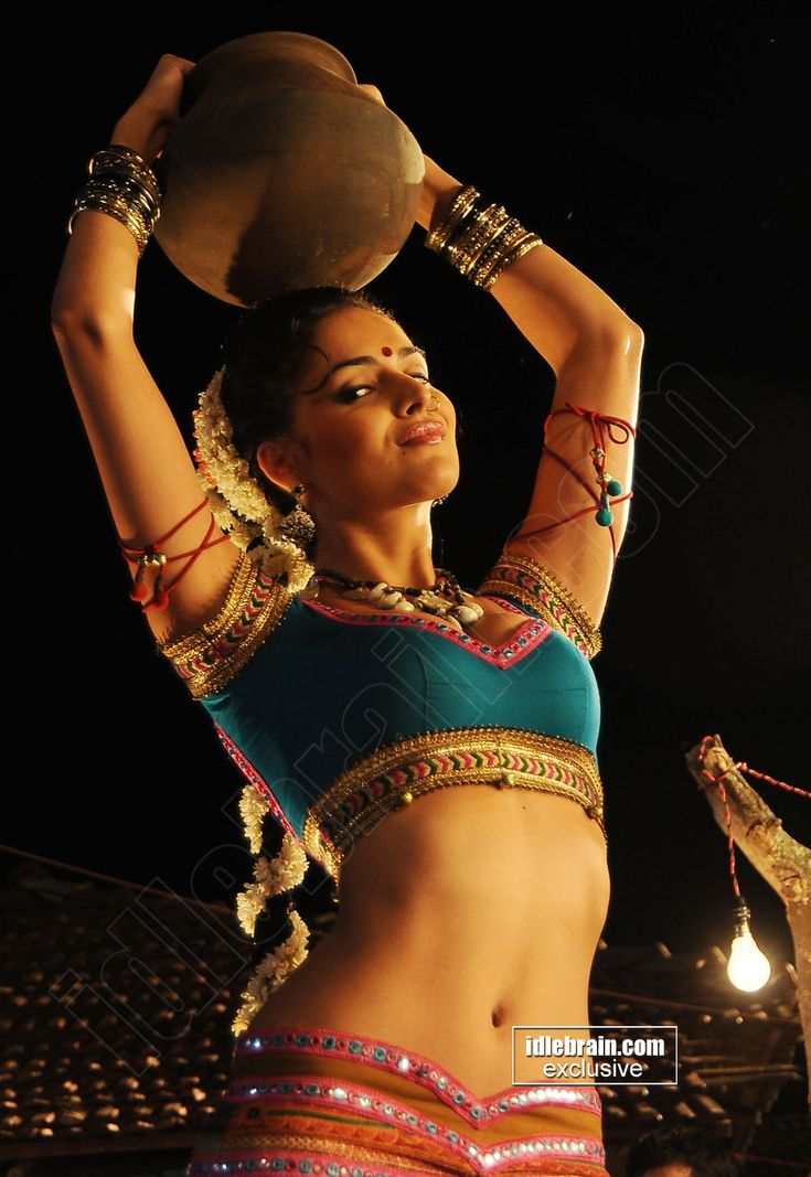 Nathalia Kaur Showing Her Bulging Melons & Sexy Navel For an Item Song Shoot..Spicy P - Page 2