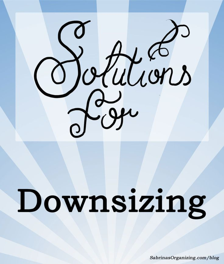Downsizing Tips to help you downsize your home. Check out the posts and take those steps to downsize with little stress.