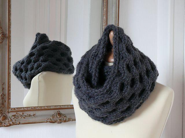 81 Best Scarf Knitting Patterns Images On Pinterest Knit Scarves