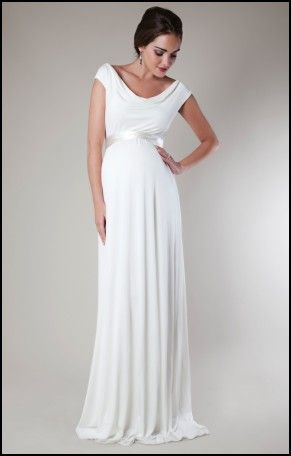 Post Pregnancy Wedding Dress