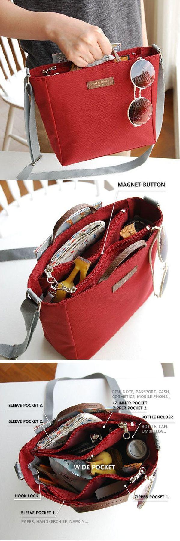 US$11.39 Multifunctional Waterproof Oxford Cloth Lightweight Outdoor Travel Handbag Shoulder Bag Storage Bag