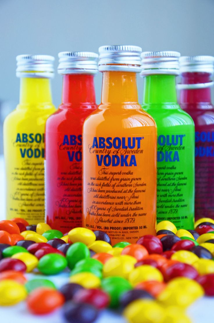 Skittles Vodka Party Favors. Skittles vodka tastes fruity and delicious, but it's very strong so be careful.  You can mix this alcohol with fruity juices, sprite, or even ginger ale.  It also tastes good just by itself.  Have fun with this, but remember to be responsible too.  Happy New Year's everyone!