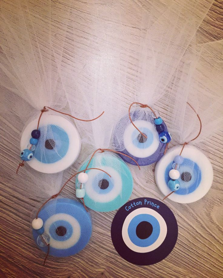 wedding favors evileye soaps  by cotton prince