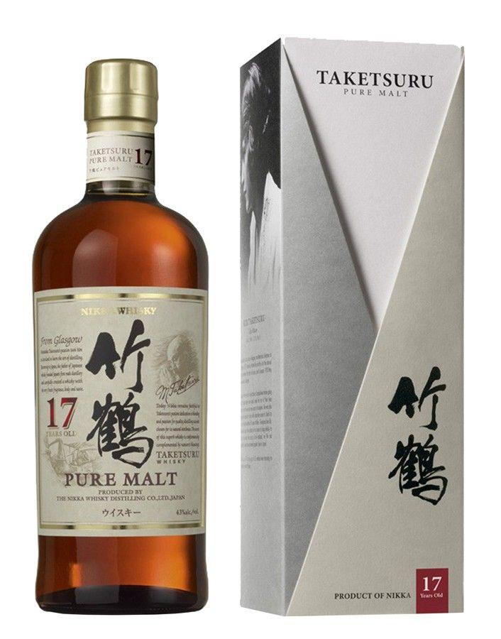 Le whisky Taketsuru 17 ans a été élu à plusieurs reprises meilleur Blended Malt au monde. Chaleureux hommage au fondateur de la distillerie Yoichi, Masataka Taketsuru, ce malt est un assemblage surprenant aux notes crémeuses, fruitées et chocolatées.