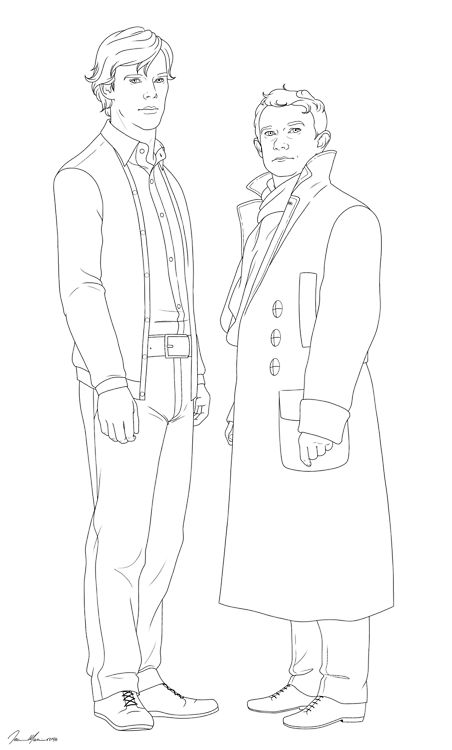 sherlock coloring pages - photo#26