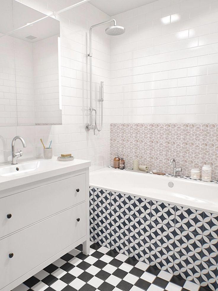 Ванная комната – это одно из самых посещаемых мест в доме. И поэтому она должна быть не только удобной и правильно спланированной, но и красивой, с отделкой из качественных материалов. В этой статье вы увидите подборку ванных комнат с разнообразной керамической плиткой и вариантами ее укладки
