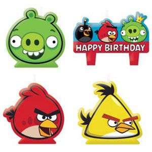 A173710 - Angry Birds Candles Please note: approx. 14 day delivery time. www.facebook.com/popitinaboxbusiness