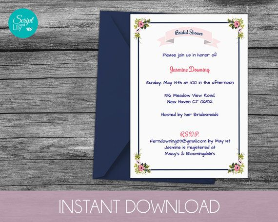 28 best Script and Lily images on Pinterest At home, Card stock - ms word invitation templates free download