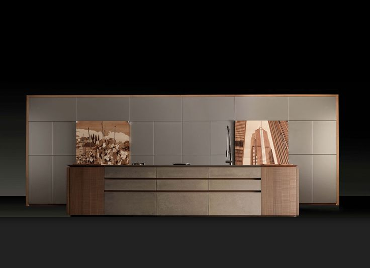 TONCELLI - Progetto50 - Lacquered, wood and cement mousse