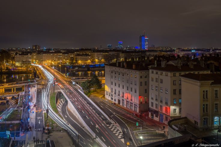 Lyon by night by Stephane Dionyssopoulos on 500px