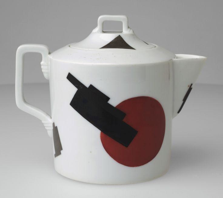 Nikolai Suetin, Teapot, c. 1923