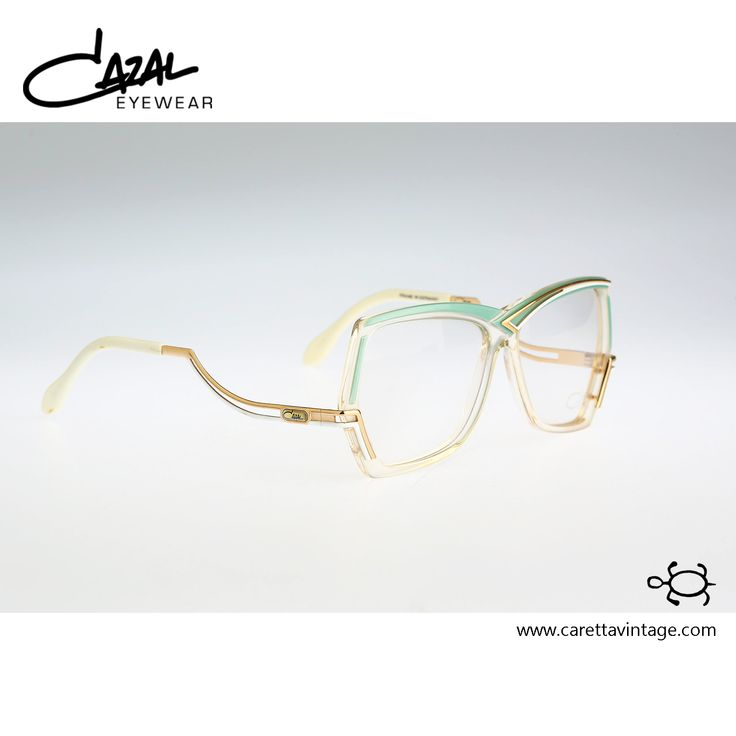 Cazal 178 237, Vintage hexagonal eyeglasses, 80s optical frame, unique and rare / NOS