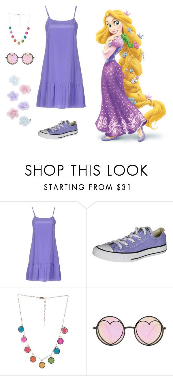 """Jogue suas tranças de mel...Rapunzel!"" by cindyjayy on Polyvore featuring moda, P.A.R.O.S.H., Converse, Marc Jacobs, Betsey Johnson e Monsoon"