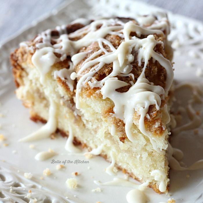 Greek Yogurt Coffee Cake is a moist and delicious coffee cake recipe ...