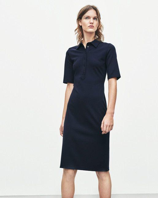 Jersey Shirt Dress - Dresses - Shop Woman - Filippa K