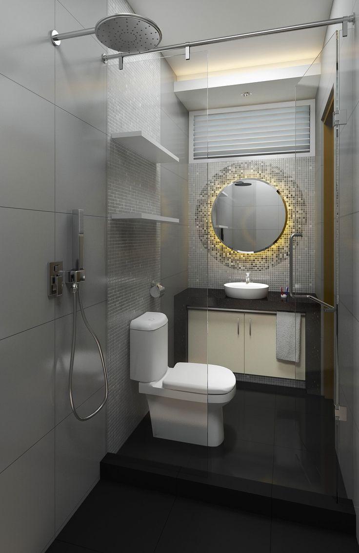 Desain kamar mandi mewah dan elegan |Portofolio By : Arya Desain (Interior Designer di Sejasa.com)