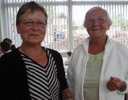 To tidligere formænd i Skanderborg. Begge sad de på posten i mange år.