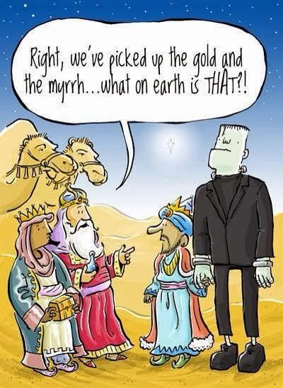 Funny Three Wise Men Cartoon