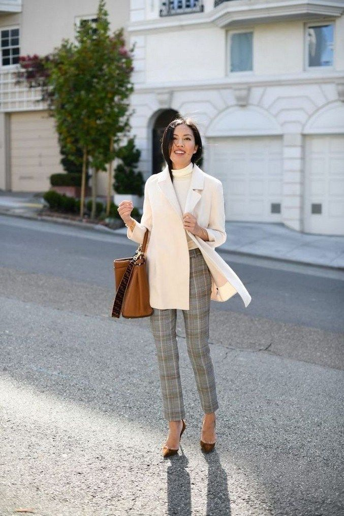 50+ Latest Office & Work Outfits Ideas 2019 #workoutfits #outfitideas #officeout…