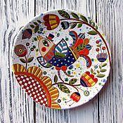 """Магазин мастера """"Цветные сны""""   Ирины Паньковской: сервизы, чайные пары, тарелки, вазы, декоративная посуда, фантазийные сюжеты"""