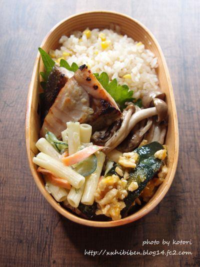 とうもろこしご飯で男子学生弁当 by kotori*さん | レシピブログ ...
