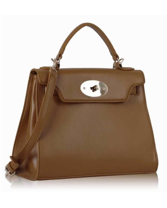 Brown Leather Classic Tote Shoulder Bag For Ladies Online in Pakistan   ToteBags  ShoulderBags  Fashion  Pakistan 53a079d3fcee4