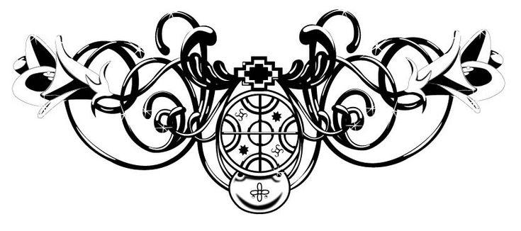 mapuche design tattoo