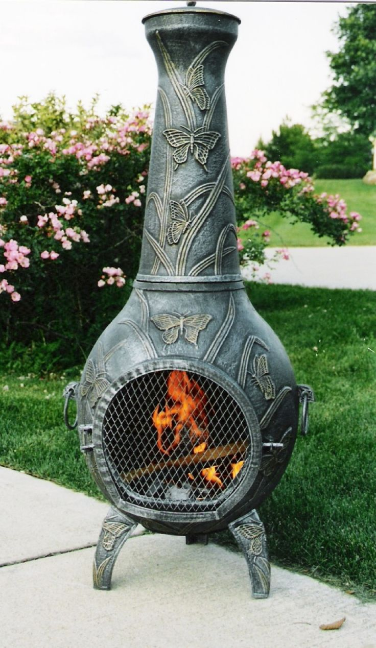 best 25 metal chiminea ideas on pinterest outdoor heat lamp