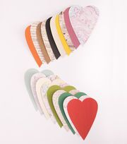 DCWV Stateside Die Cut Stack Hearts