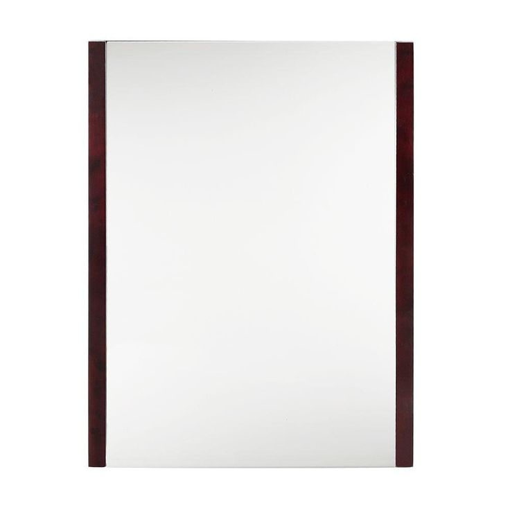 Home Decorators Collection Lofty 31 5 In X 23 In Framed Mirror In Dark Walnut