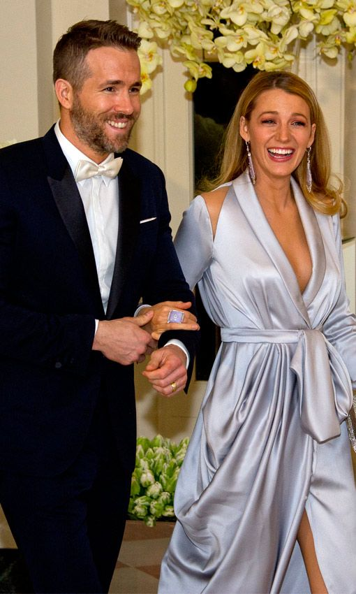 Ryan Reynolds y Blake Lively http://us.hola.com The White House