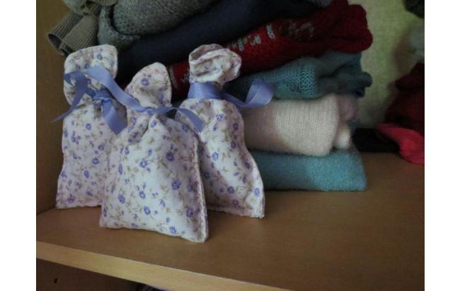 bolsitas souvenir - aromáticas de lavanda 16x10cm