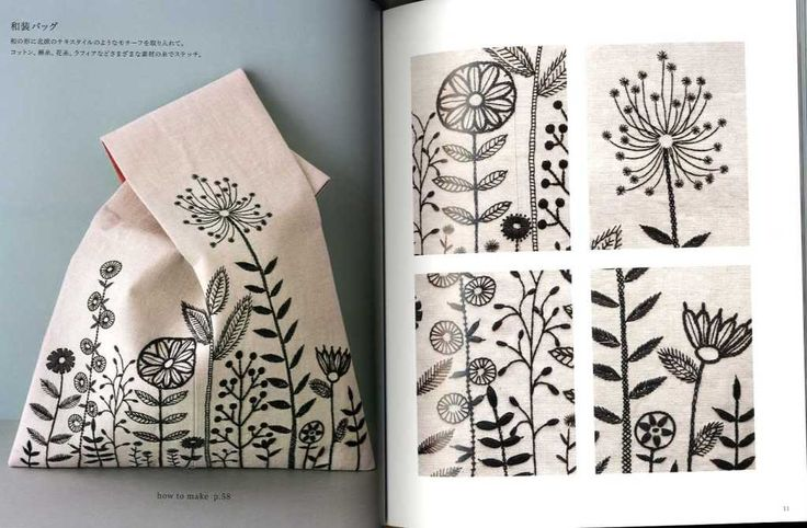 Naoko Shimoda's Embroidery Book Japanese Craft Book