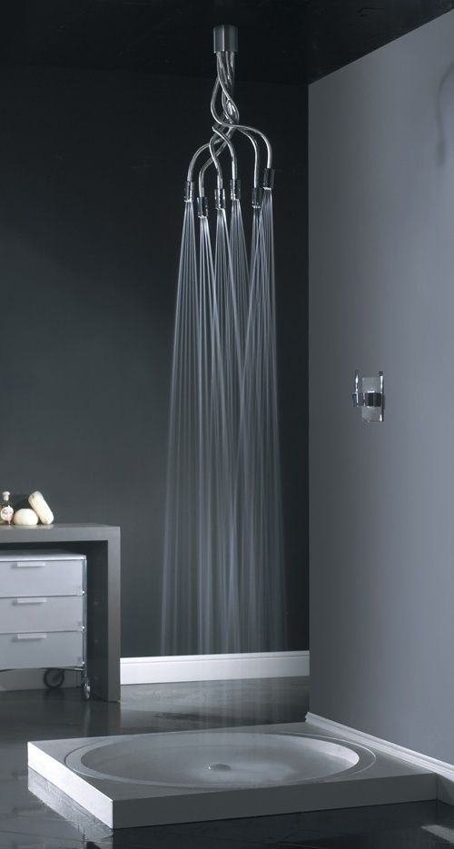 Amazing shower.