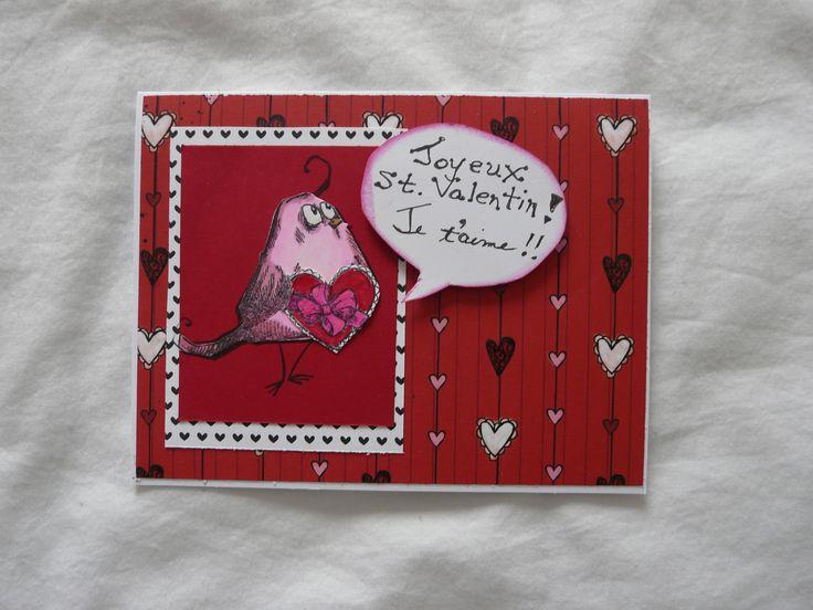 Crazy Bird Valentine for my grand daughter