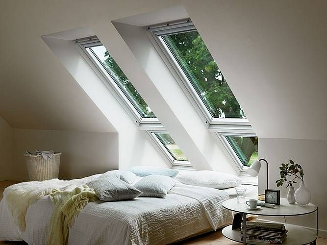 Die besten 25+ Bett unter Fenstern Ideen auf Pinterest