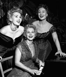 zsa zsa, eva and magda gabor