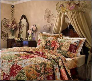 Victorian Themed Bedroom Decorating Antique Country Victorian Style