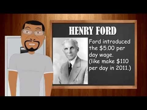 Henry Ford (Biography for Children) Famous Inventors (Cartoons for Children) - YouTube