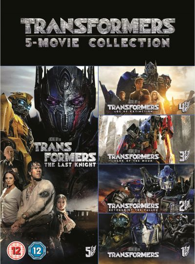 Transformers:- 5 Movie Collection (DVD)